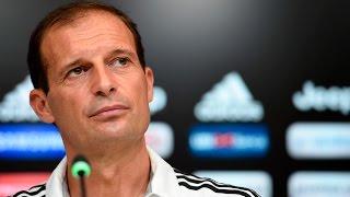 Allegri previews Sassuolo visit - Juve-Sassuolo, la conferenza stampa della vigilia