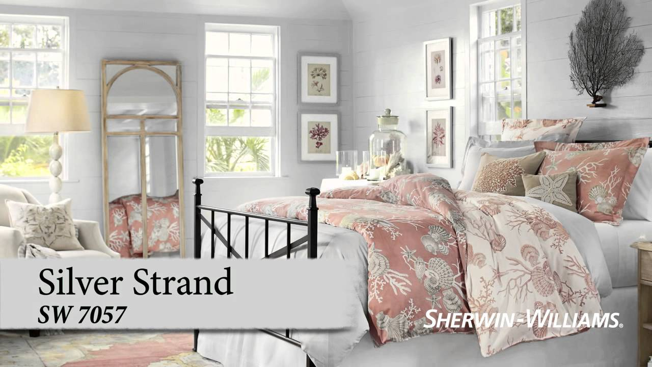 Bedroom Color Ideas from Sherwin-Williams | Pottery Barn - YouTube
