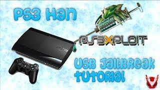 PS3 USB HAN Jailbreak Super Slim | Alle PS3 Modelle! 4.82 | Rheloads