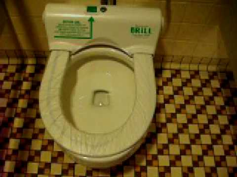 Brill automatic toilet seat cover Clever YouTube