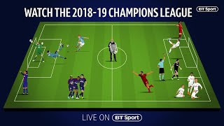 Outstanding players, outstanding goals! The Champions League is back! Our