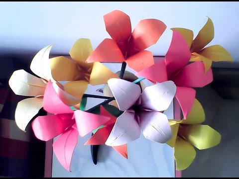Make yourself paper flowers hd youtube make yourself paper flowers hd mightylinksfo Images