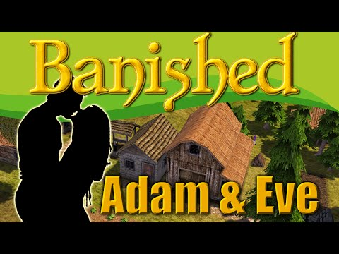 Adam & Eve in Banished - I Bought Boy Cows