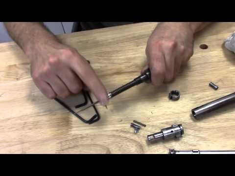 Mausingfield Bolt Disassembly And Reassembly