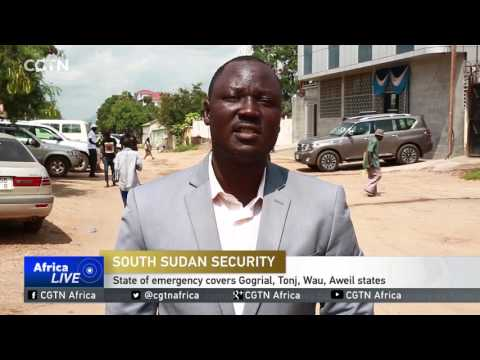 President declares state of emergency in parts of S.Sudan