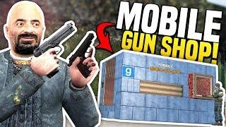 MOBILE GUN SHOP - Gmod DarkRP | Pop-Up Gun Shop!