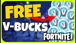 HOW TO GET V-BUCKS FOR FREE on FORTNITE BATTLE ROYALE!