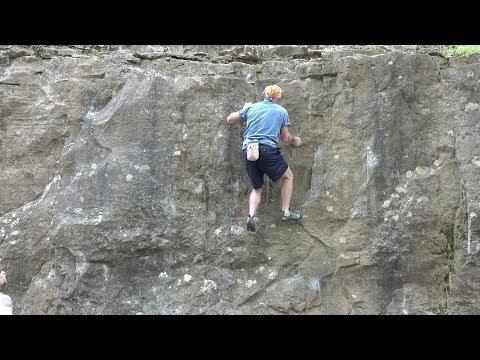 History  of  Rock  Climbing  at  Muscatatuck  Park,  North  Vernon,  Indiana