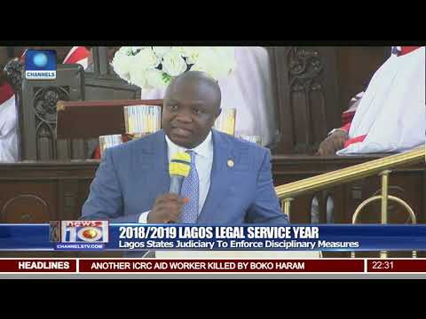 Legal Service Year: Lagos States Judiciary To Enforce Disciplinary Measures