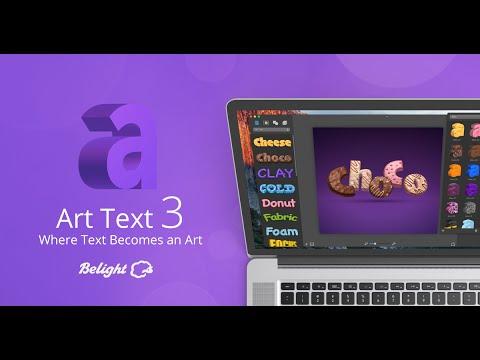 Art Text 3 - Where Text Becomes an Art