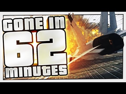 LANDING A JET IN TRAFFIC | Gone In 62 Minutes #3 (GTA 5 Challenge)
