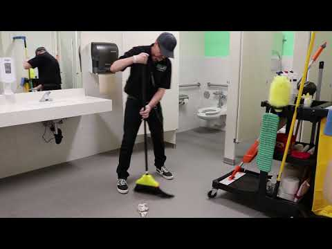 Janitorial Restroom Cleaning Step-By-Step Training