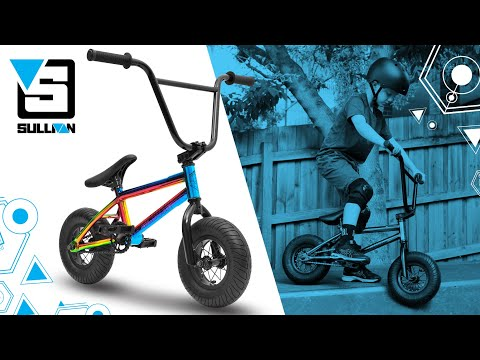 Sullivan Ambush Mini Rocker Type BMX Stunt Freestyle Bike Jet Fuelled Neo Chrome