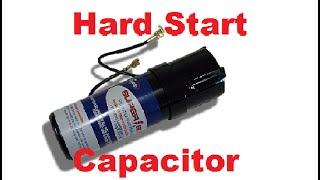 Capacitor de Arranque Duro - Que es y para que sirve?