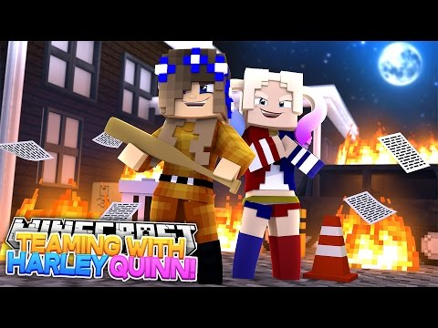BECOMING HARLEY QUINN'S SIDEKICK w/Little Carly and Little Kelly (Minecraft Roleplay)