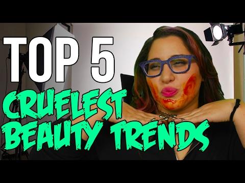 TOP 5 Cruelest Beauty Trends That Need to Die // Dark 5 | Snarled