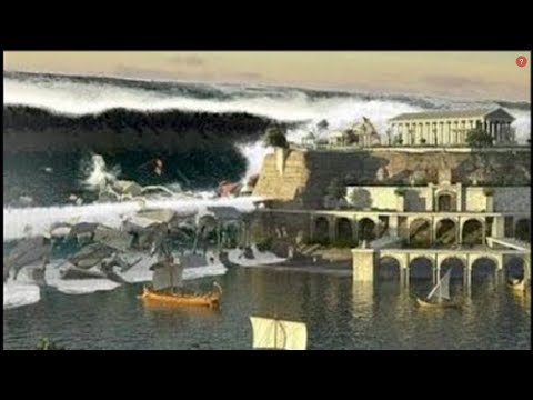 Thumbnail: Most Destructive TSUNAMIS In The History - Santorini