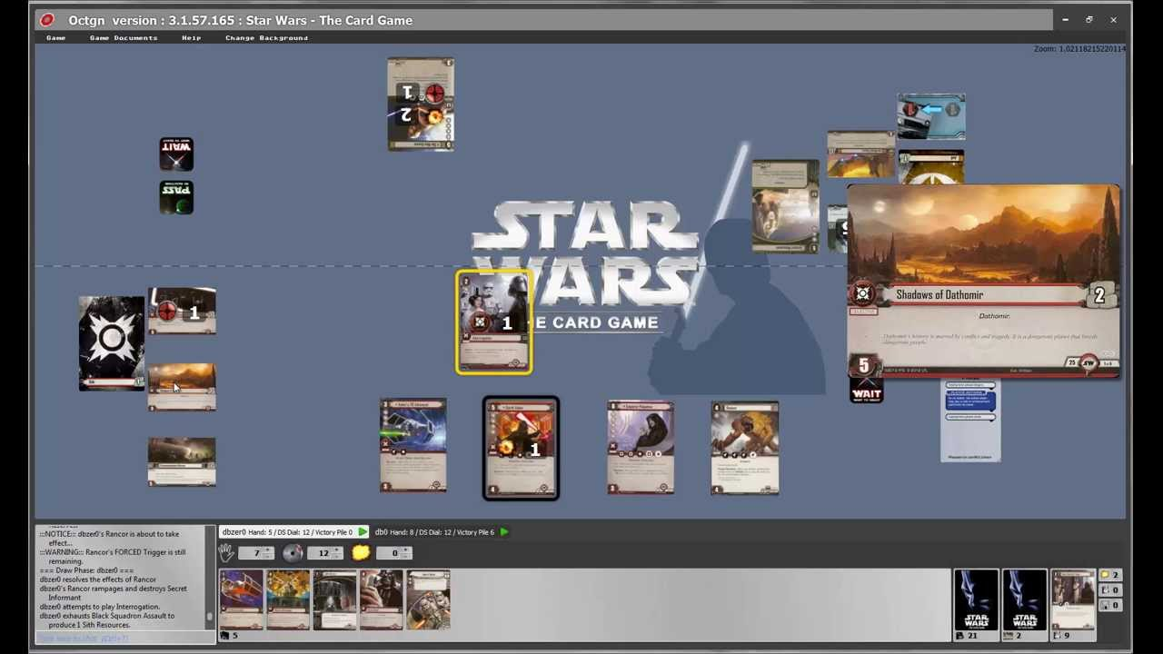 Card Wars Card Game Card List Star Wars:the Card Game