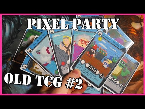 Pixel Party - Old Homemade TCGs #2