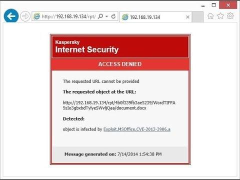 Fix Kaspersky Websites Blocking chrome browser