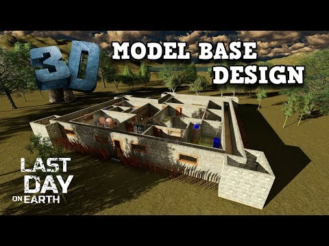 3D MODEL BASE DESIGN | BLUEPRINTS | LAST DAY ON EARTH: SURVIVAL | [RidoMeyer]