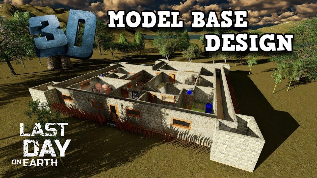 3d model base design blueprints last day on earth survival 3d model base design blueprints last day on earth survival ridomeyer malvernweather Choice Image