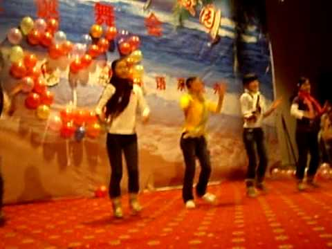 Jingle Bells Chinese style at Christmas