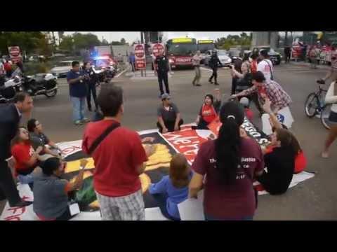 #strikefastfood-i-15-blockade-&-street-sit-in-jack-in-the-box-protest