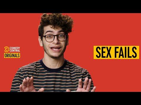 Noah Grossman's Penis Popped During Shower Sex - Sex Fails