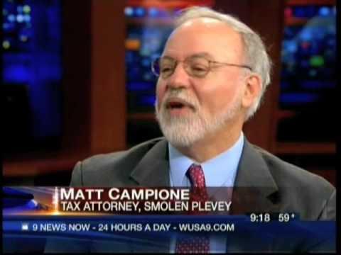 Matt Campione discusses offshore accounts on WUSA9