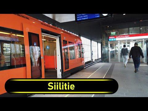 Metro Station Siilitie - Helsinki - Walkthrough 🚶