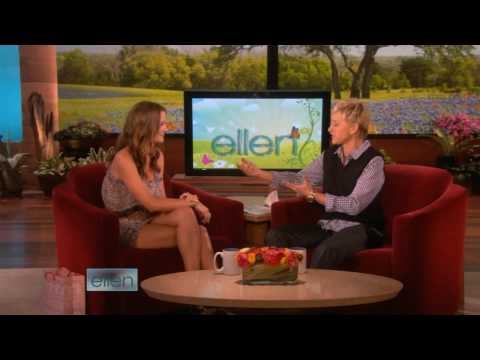 Leighton Meester - Ellen (24.04.2009) from YouTube · Duration:  4 minutes 29 seconds