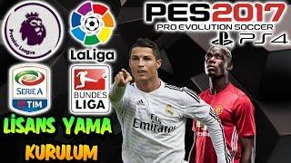 PES 2017 PS4 LİSANS YAMA KURULUM ve DOSYALAR