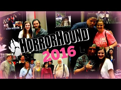 HorrorHound Weekend Cincinnati,OH 2016
