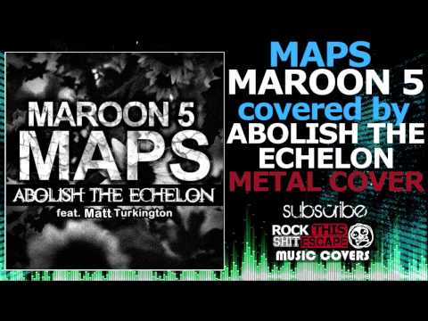 Maroon 5-Maps (Metal cover)  #1