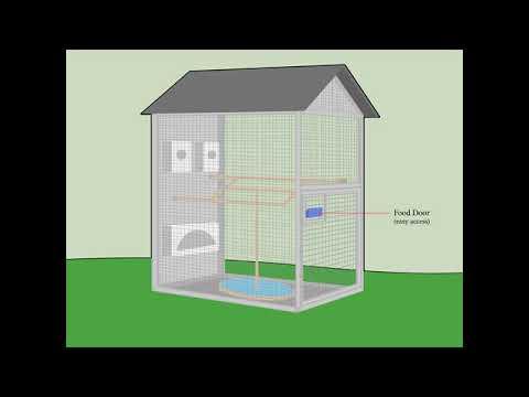 Build Indoor Bird Aviary