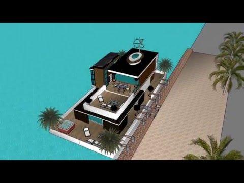 Houseboat timeshare concept; Miraculous in Perth Australia, Manduarah Ocean Marina