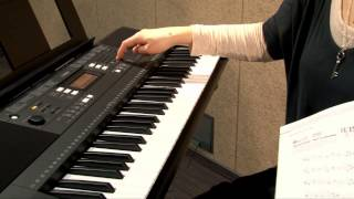 Демонстрация функции обучения на синтезаторе Yamaha PSR-E343