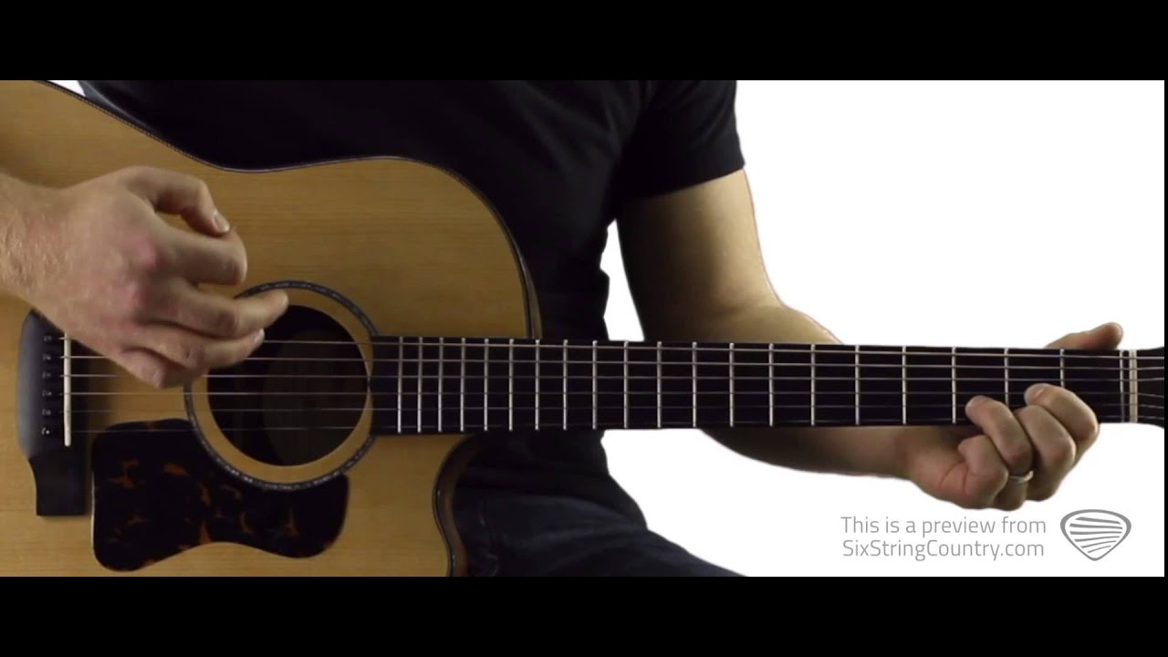 Fishin In The Dark Guitar Lesson And Tutorial The Nitty Gritty