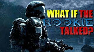What if The Rookie Talked in Halo 3: ODST? (Parody)