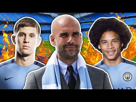 Is Pep Guardiola Building A Future Champions League Dream Team?! | W&L