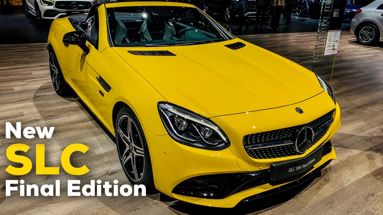 2019 mercedes slc 300 full review final edition slc43 amg