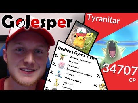 GoJesper - Bedste Pokemon i Gyms (Dansk Pokemon Go)