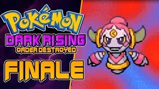 Pokemon Dark Rising Order Destroyed Rom Hack FINALE HOOPA! Gameplay Walkthrough