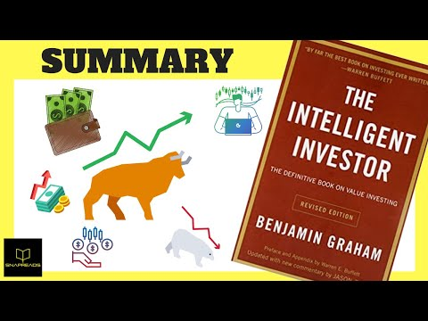 The Intelligent Investor by Benjamin Graham | Animated Book Review