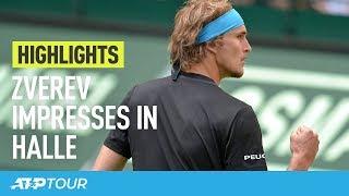 Noventi Open Halle 2019: Robin Haase verliest  van Alexander Zverev
