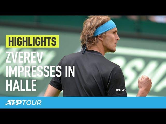 Zverev Passes Opening Test | HIGHLIGHTS | ATP