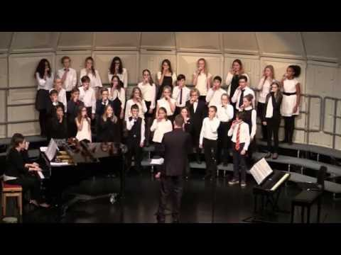 International School of Stavanger Choir Concert - December 8, 2016 - Middle School and High School