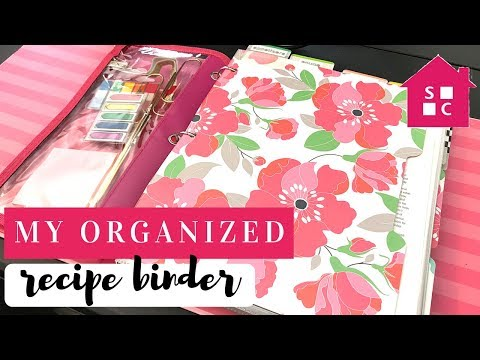 How To Organize Recipes In A Binder (updated)