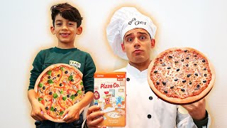 Jason orders Pizza and runs his own Pizza Shop
